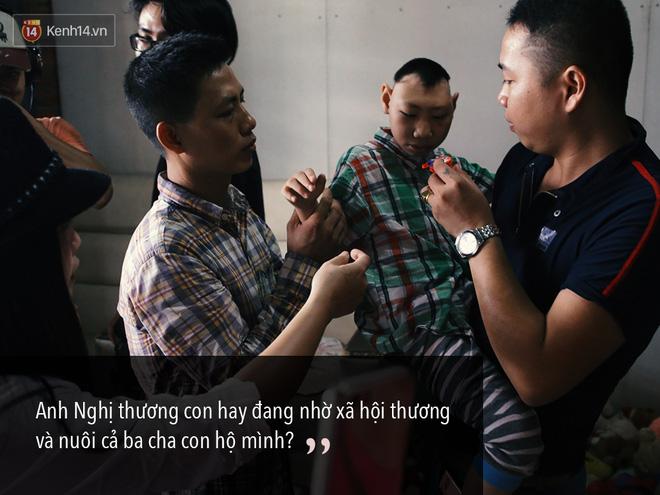 Chuyện ông bố Đặng Hữu Nghị xin lỗi mạnh thường quân và người Sài Gòn thương người lắm - Ảnh 4.
