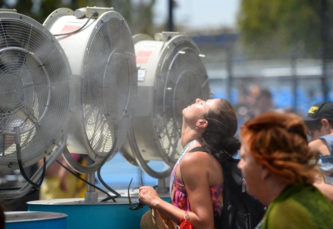 Những bức ảnh khủng khiếp về nắng nóng - Ảnh 4