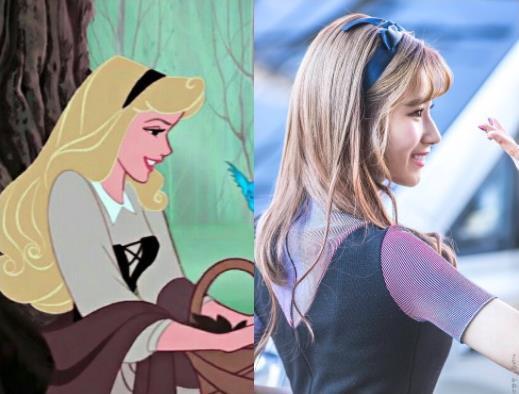 Phát hiện mỹ nhân của TWICE sở hữu nét đẹp siêu thực, giống hệt công chúa truyện cổ tích của Disney - Ảnh 4.