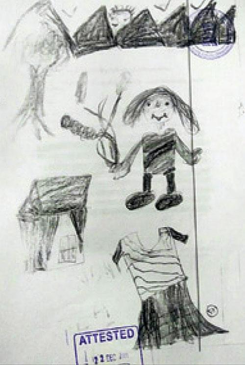 Đằng sau những bức vẽ nguệch ngoạc của trẻ thơ là sự thật khủng khiếp mà cha mẹ không ngờ tới - Ảnh 5.