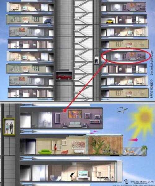 Dubai đang cho xây dựng tòa nhà biết chuyển động theo lệnh của con người đầu tiên trên thế giới - ảnh 6