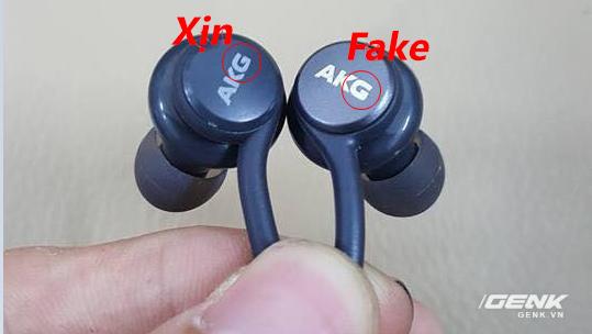 Hãy cẩn thận: Đã có tai nghe AKG Galaxy S8 fake, giá chưa tới 300.000 VNĐ và đây là cách nhận biết - Ảnh 6.
