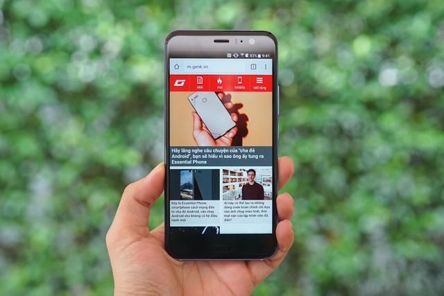 Smartphone có tính năng bóp viền cảm ứng HTC U11 chính thức ra mắt tại thị trường Việt Nam, giá gần 17 triệu đồng - Ảnh 6.