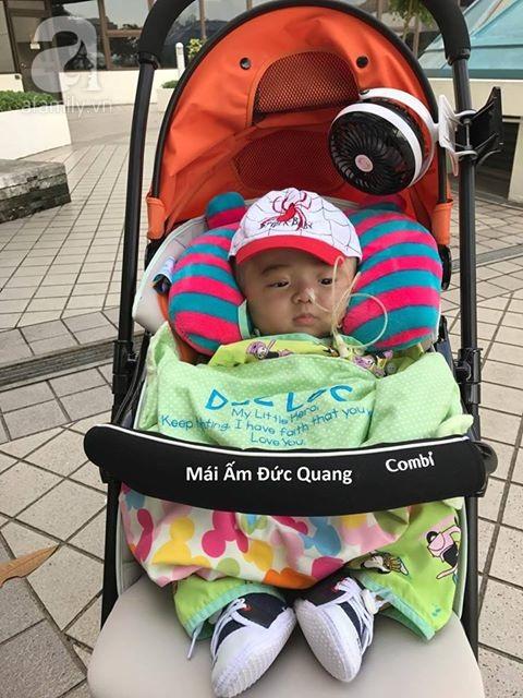 Bé Phạm Đức Lộc phục hồi diệu kỳ, não phát triển và chuẩn bị xuất viện tại Singapore - Ảnh 7.