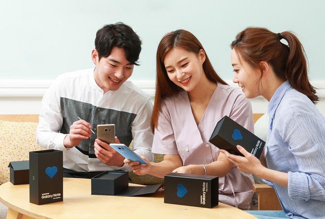 Galaxy Note7 chính thức hồi sinh với tên gọi Galaxy Note Fan Edition: Sử dụng linh kiện mới, pin 3200mAh, hộp có logo trái tim, 400.000 máy tại Hàn Quốc, giá 13.8 triệu, 7/7 bắt đầu bán - Ảnh 7.