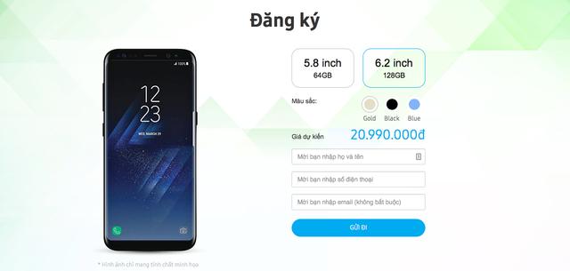 FPT Shop bất ngờ tiết lộ tất tần tật thông tin về Galaxy S8, bao gồm cả giá và thời điểm bán tại Việt Nam - ảnh 8