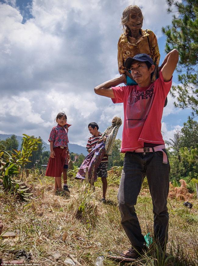 Đào mộ, thay áo mới cho xác chết: Đây chính là một tập tục rùng rợn nhất tại Indonesia - ảnh 8