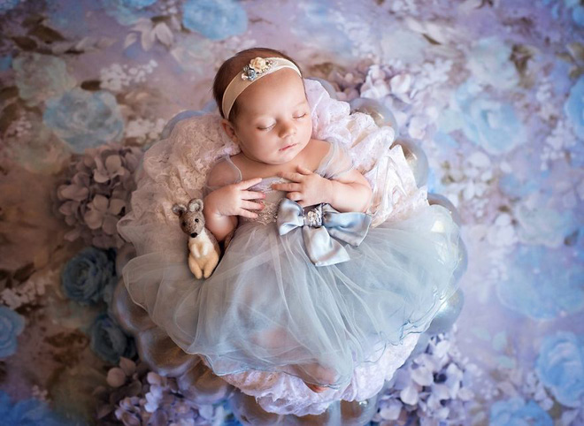 Bộ ảnh đẹp lung linh của các bé sơ sinh vào vai công chúa Disney - Ảnh 17.