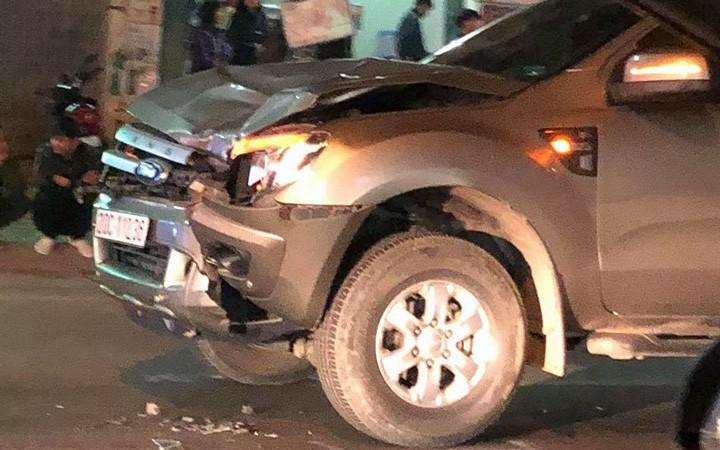 Thái Nguyên: Cùng nhau đi bộ qua đường, 4 người bị xe ô tô đâm tử vong