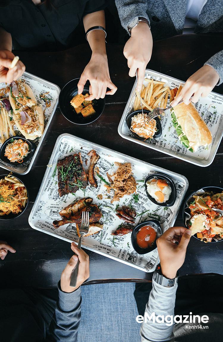 Quán Con Heo Béo – Một quán mới rất ổn cho những tín đồ thịt nướng kiểu Mỹ - Ảnh 6.