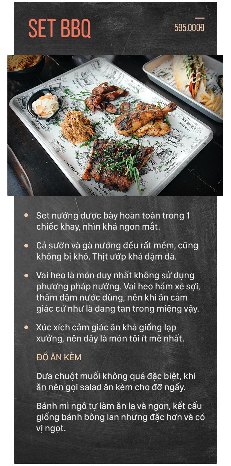 Quán Con Heo Béo – Một quán mới rất ổn cho những tín đồ thịt nướng kiểu Mỹ - Ảnh 8.
