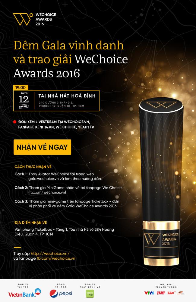 Vì sao bạn không thể bỏ qua sự kiện hot nhất V-biz đầu năm 2017 - Gala WeChoice Awards 2016? - Ảnh 4.
