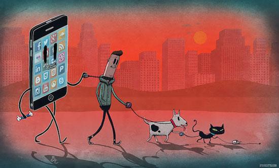 17 bức ảnh minh hoạ cho thấy con người đã nghiện công nghệ như thế nào - Ảnh 25.