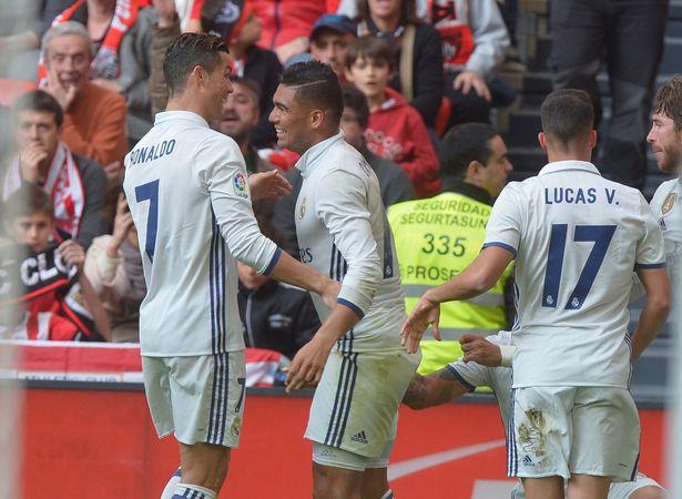 Ronaldo lập cú đúp kiến tạo, Real nhọc nhằn khuất phục Bilbao - Ảnh 8.