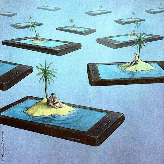 17 bức ảnh minh hoạ cho thấy con người đã nghiện công nghệ như thế nào - Ảnh 7.