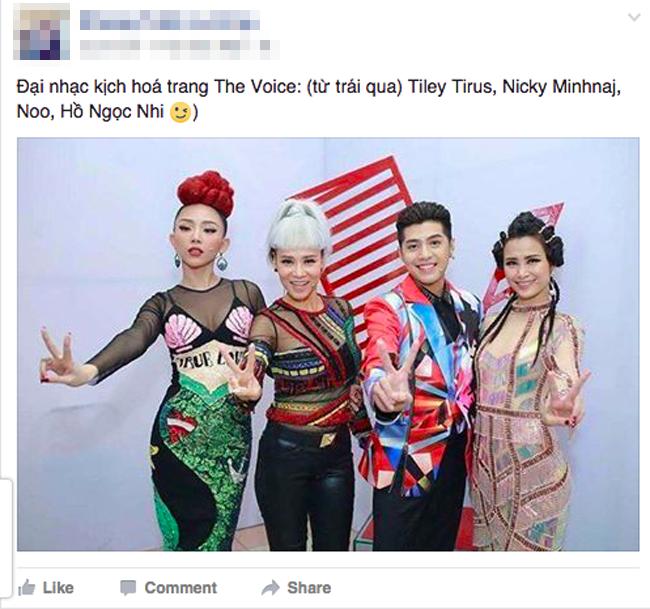 Netizen ví thời trang của bộ tứ HLV The Voice Việt 2017 như 2NE1 và... Võ Lâm Truyền Kỳ - Ảnh 4.