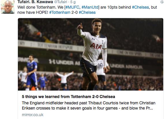 Chelsea bại trận, fan Man Utd hỉ hả như được mùa - Ảnh 3.