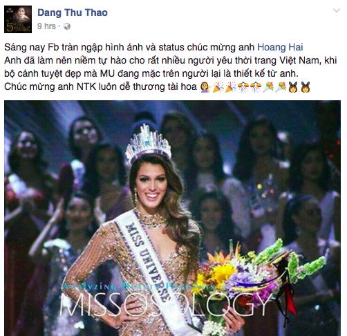 Trước khi thiết kế váy cho tân HHHV, Hoàng Hải vốn đã là NTK của mọi Hoa hậu Việt - Ảnh 2.