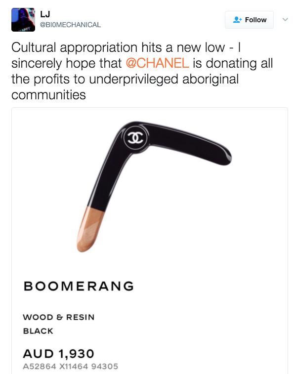 Chanel làm ra chiếc boomerang giá 32 triệu đồng và nó đang khiến netizen bối rối vô cùng - Ảnh 7.
