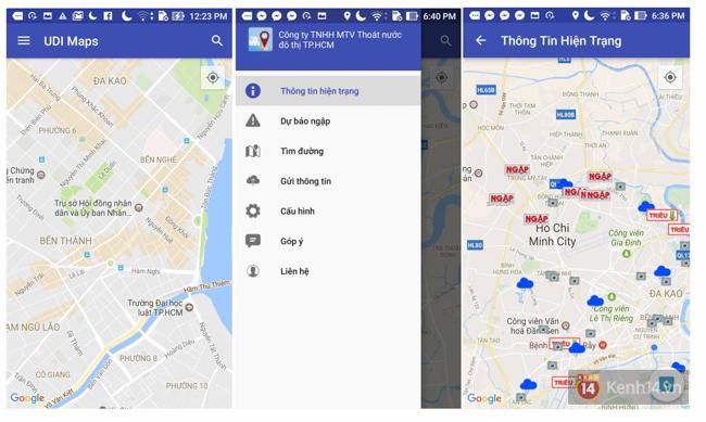 Sợ mưa ngập nặng ở Sài Gòn? Ứng dụng này sẽ giúp bạn biết nơi nào đang ngập để tránh