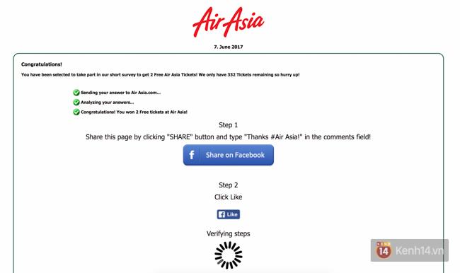Facebook đang rộ lên trò lừa đảo tặng vé máy bay, bạn phải cẩn thận - Ảnh 5.