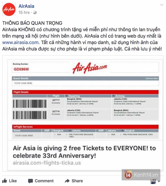 Facebook đang rộ lên trò lừa đảo tặng vé máy bay, bạn phải cẩn thận - Ảnh 8.