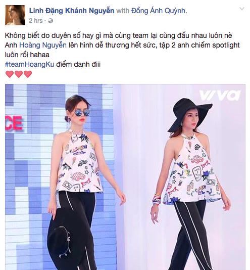 Không chỉ các thí sinh rất phấn khích trước sự góp mặt của chàng stylist Hà thành...
