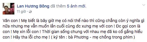 Nghe lời Người Phán Xử, bà Phương và Vân công khai xin lỗi nhau trên Facebook - Ảnh 2.