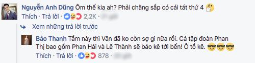 Đăng ảnh tình tứ ôm Việt Anh, Bảo Thanh bị chồng Anh Dũng đe doạ cho ăn tát - Ảnh 2.