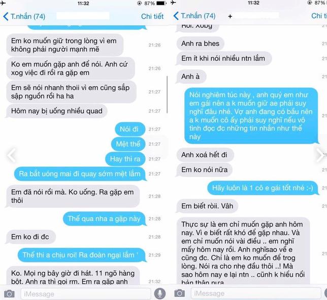 Lộ tin nhắn được cho là Bảo Thanh thả thính Việt Anh, người trong cuộc nói gì? - Ảnh 2.