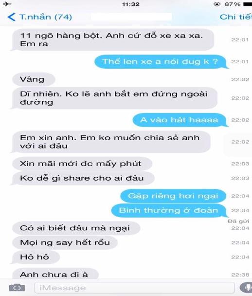 Lộ tin nhắn được cho là Bảo Thanh thả thính Việt Anh, người trong cuộc nói gì? - Ảnh 4.