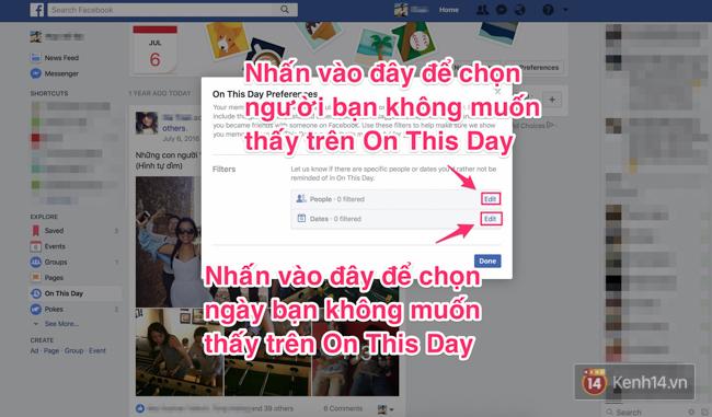 Làm thế nào để Facebook không còn nhắc lại những kỷ niệm buồn trong quá khứ của bạn hằng ngày? - Ảnh 4.