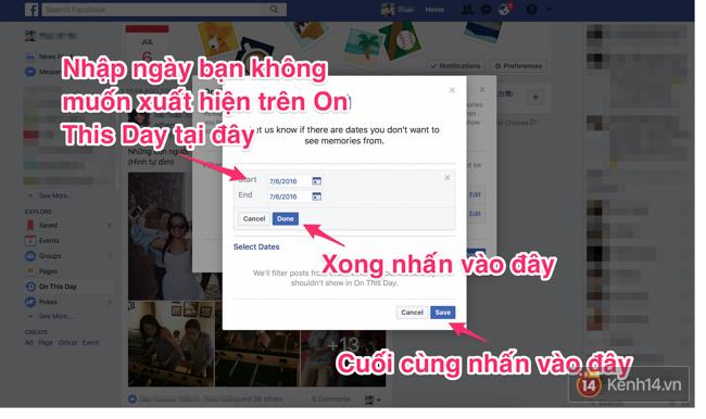 Làm thế nào để Facebook không còn nhắc lại những kỷ niệm buồn trong quá khứ của bạn hằng ngày? - Ảnh 6.