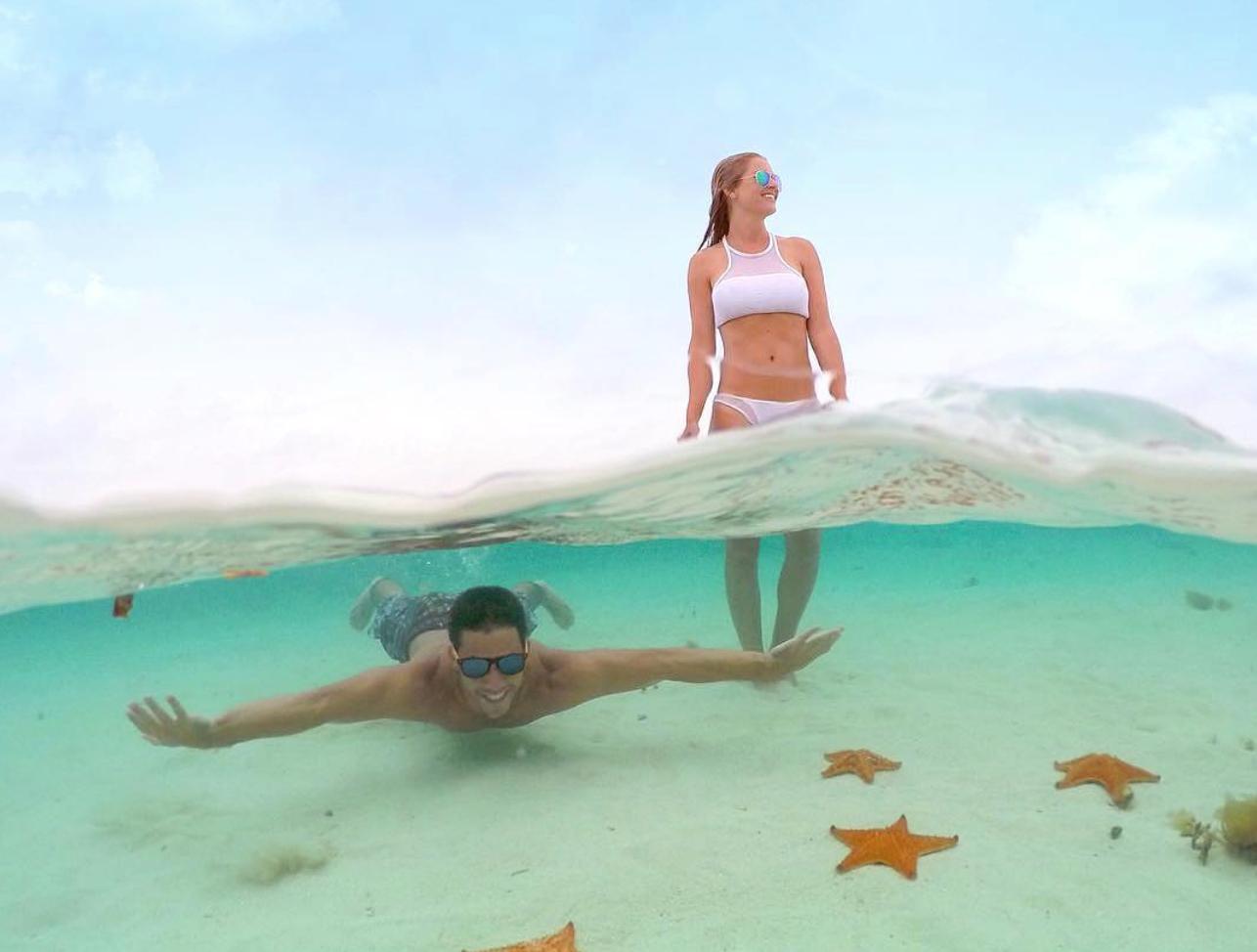 Забавные фото идеи на море