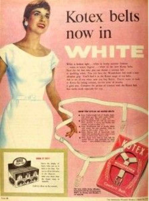 Lạ lùng những cách đối phó với ngày đèn đỏ của phụ nữ 100 năm trước - Ảnh 6.