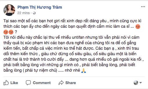 Nhận xét giọng hát Chi Pu mà khiến người ta nể và phục, thì có lẽ Hương Tràm đã không phải xoá status đi! - Ảnh 1.
