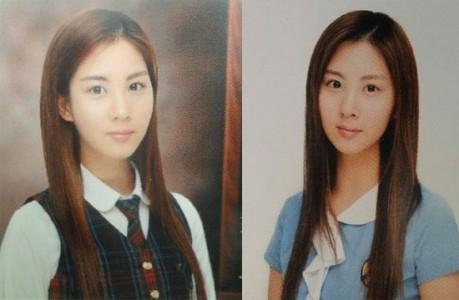 Cô út Seohyun của SNSD từ thời đi học trông đã khá xinh đẹp