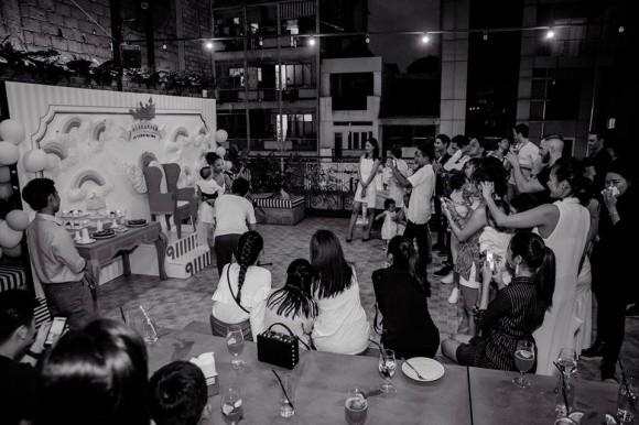 Tăng Thanh Hà mặc giản dị nhưng vẫn nổi bần bật trong tiệc sinh nhật con trai ca sĩ Thảo Trang - Ảnh 5.
