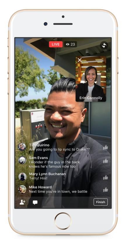 Dù cách nhau nửa vòng trái đất, bạn vẫn có thể Live chung với bạn bè nhờ tính năng mới của Facebook - Ảnh 4.