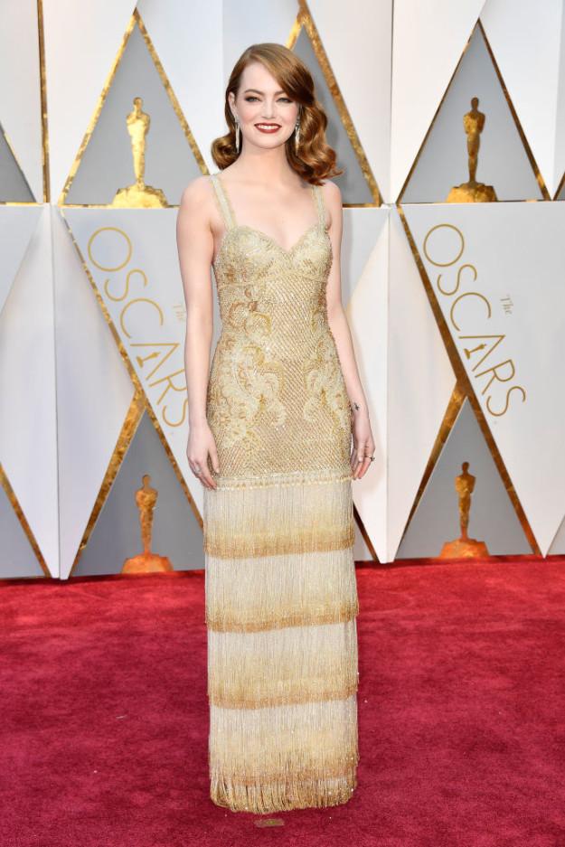 Đã thắng Oscar lại đẹp hết phần người khác, Emma Stone chính là nữ thần của đêm trao giải! - Ảnh 2.