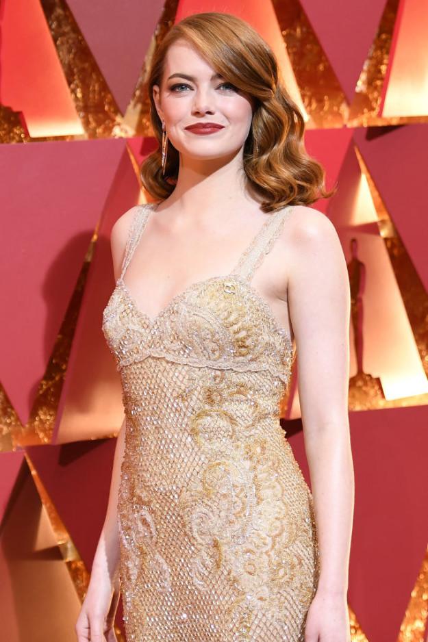 Đã thắng Oscar lại đẹp hết phần người khác, Emma Stone chính là nữ thần của đêm trao giải! - Ảnh 3.