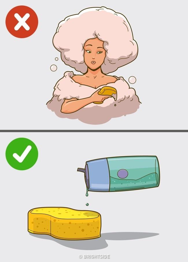 Những sai lầm khi tắm rửa ai cũng từng mắc một lần trong đời - Ảnh 5.