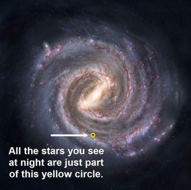 Những bức ảnh cho thấy Trái đất của chúng ta quá nhỏ bé trong vũ trụ này - Ảnh 24.