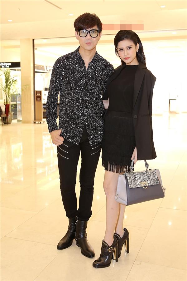 Trương Quỳnh Anh - Tim chăm diện thời trang ton-sur-ton nhất mỗi khi song hành trên thảm đỏ - Ảnh 9.