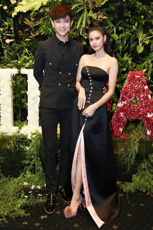 Trương Quỳnh Anh - Tim chăm diện thời trang ton-sur-ton nhất mỗi khi song hành trên thảm đỏ- Ảnh 11.