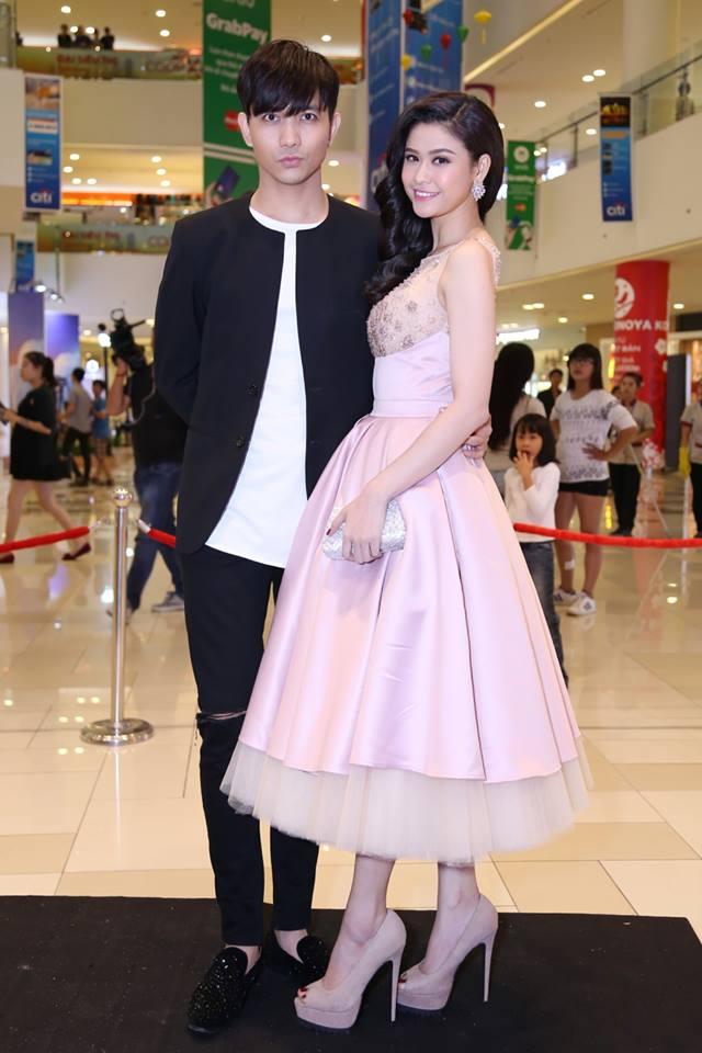 Trương Quỳnh Anh - Tim chăm diện thời trang ton-sur-ton nhất mỗi khi song hành trên thảm đỏ- Ảnh 18.