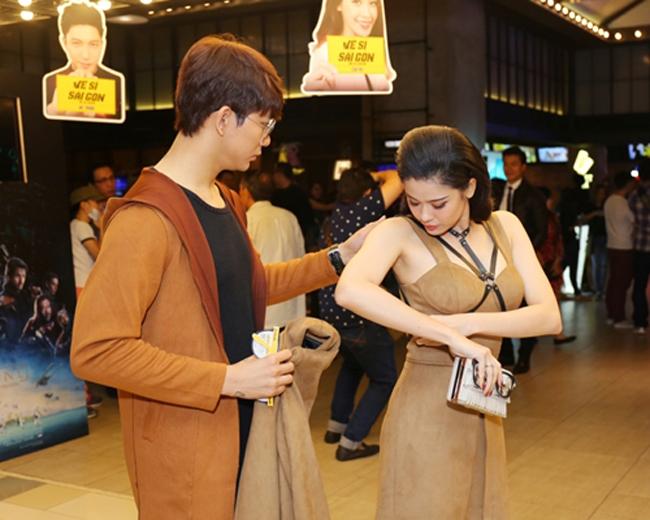 Trương Quỳnh Anh - Tim chăm diện thời trang ton-sur-ton nhất mỗi khi song hành trên thảm đỏ- Ảnh 8.