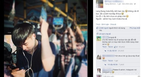 """""""Hot boy xe bus"""" thêm một lần khiến các cô gái phát sốt với hình ảnh lịch lãm, chuẩn soái ca"""