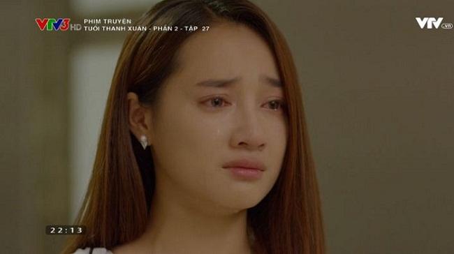 Khán giả phát mệt vì chìm trong nước mắt của Linh (Nhã Phương) trong Tuổi Thanh Xuân - Ảnh 1.