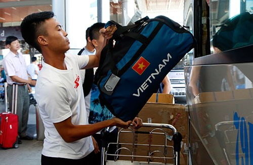 U20 Việt Nam thất lạc hành lý ở Đức - Ảnh 1.